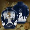 MLB New York Yankees 3D Hoodie V38