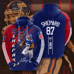 NFL New York Giants 3D Hoodie V4