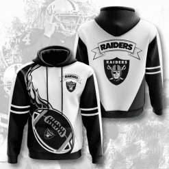 NFL Oakland Raiders 3D Hoodie V4