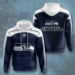 NFL Seattle Seahawks 3D Hoodie V4