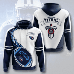 NFL Tennessee Titans 3D Hoodie V4