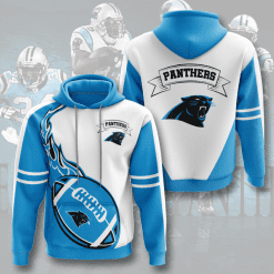 NFL Carolina Panthers 3D Hoodie V4