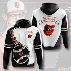 MLB Baltimore Orioles 3D Hoodie V4