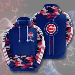 MLB Chicago Cubs 3D Hoodie V4