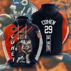 NFL Chicago Bears 3D Hoodie V4