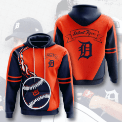 MLB Detroit Tigers 3D Hoodie V4