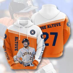 MLB Houston Astros 3D Hoodie V4