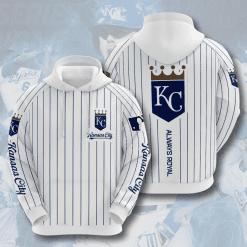 MLB Kansas City Royals 3D Hoodie V4