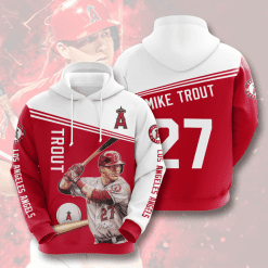 MLB Los Angeles Angels 3D Hoodie V4