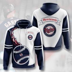 MLB Minnesota Twins 3D Hoodie V4