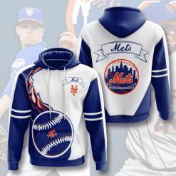MLB New York Mets 3D Hoodie V4