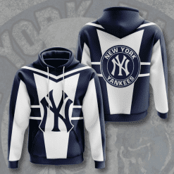 MLB New York Yankees 3D Hoodie V4
