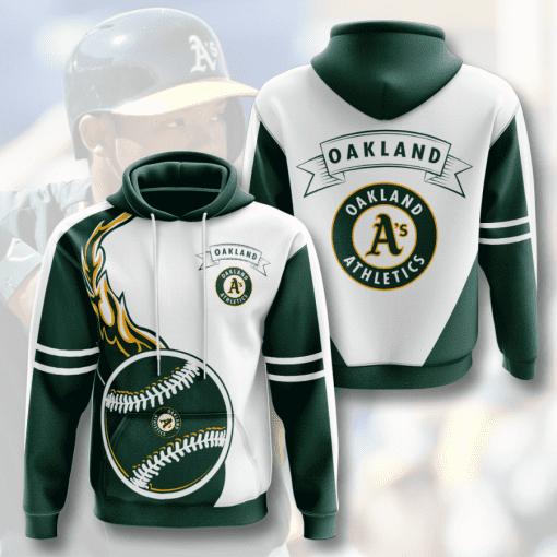 MLB Oakland Athletics 3D Hoodie V4