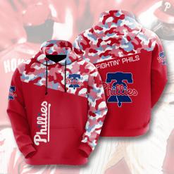 MLB Philadelphia Phillies 3D Hoodie V4