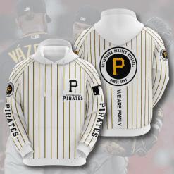 MLB Pittsburgh Pirates 3D Hoodie V4
