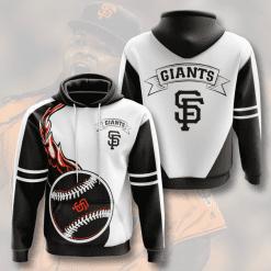 MLB San Francisco Giants 3D Hoodie V4