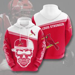 MLB St. Louis Cardinals 3D Hoodie V4