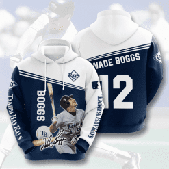 MLB Tampa Bay Rays 3D Hoodie V4