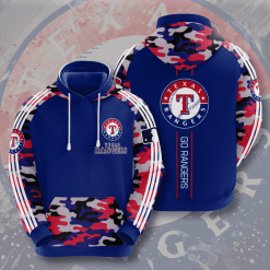 MLB Texas Rangers 3D Hoodie V4