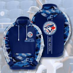 MLB Toronto Blue Jays 3D Hoodie V4