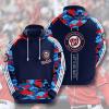 MLB Washington Nationals 3D Hoodie V5