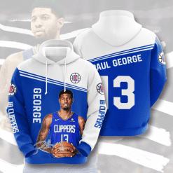 NBA LA Clippers 3D Hoodie V4