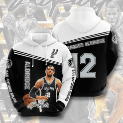 NBA San Antonio Spurs 3D Hoodie V4