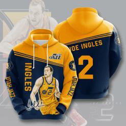 NBA Utah Jazz 3D Hoodie V4