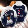 MLB New York Yankees 3D Hoodie V40