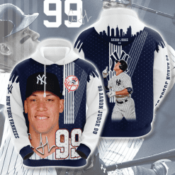 MLB New York Yankees 3D Hoodie V42