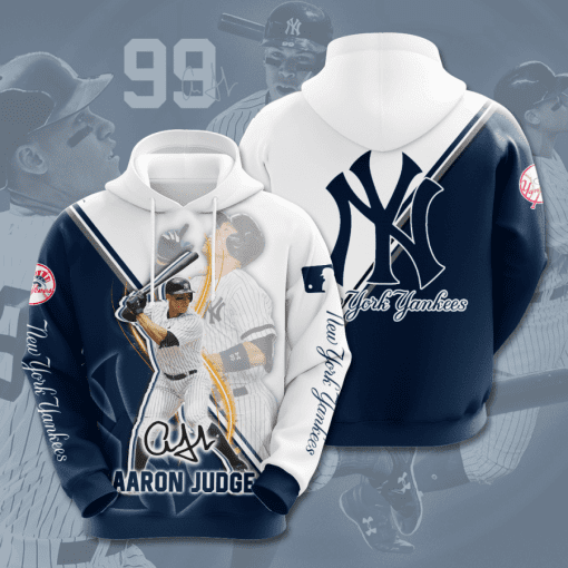 MLB New York Yankees 3D Hoodie V45