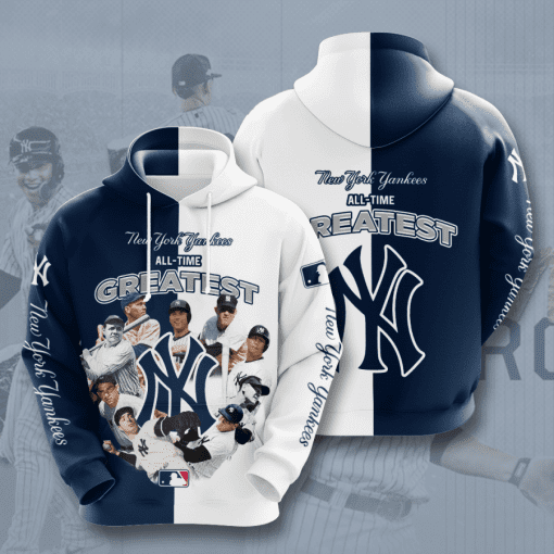 MLB New York Yankees 3D Hoodie V47