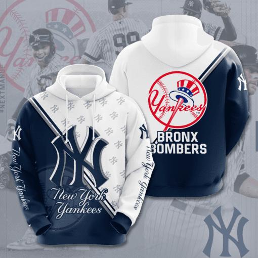 MLB New York Yankees 3D Hoodie V48