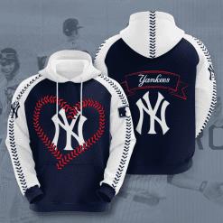 MLB New York Yankees 3D Hoodie V49