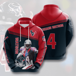 NFL Houston Texans 3D Hoodie V5