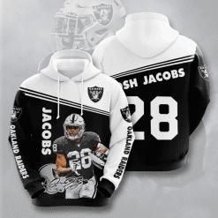 NFL Oakland Raiders 3D Hoodie V5