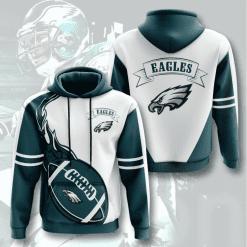 NFL Philadelphia Eagles 3D Hoodie V5
