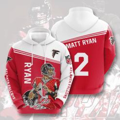NFL Atlanta Falcons 3D Hoodie V5