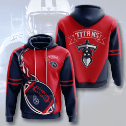 NFL Tennessee Titans 3D Hoodie V5