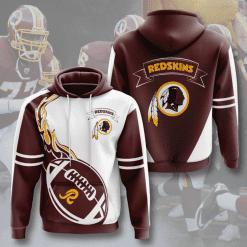 NFL Washington Redskins 3D Hoodie V5