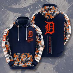 MLB Detroit Tigers 3D Hoodie V5