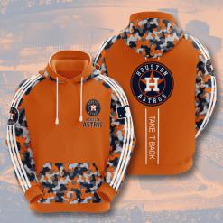 MLB Houston Astros 3D Hoodie V5