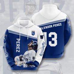 MLB Kansas City Royals 3D Hoodie V5