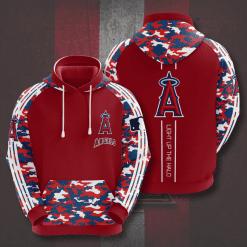 MLB Los Angeles Angels 3D Hoodie V5