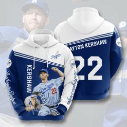 MLB Los Angeles Dodgers 3D Hoodie V5