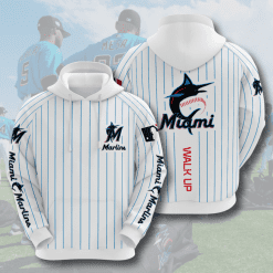 MLB Miami Marlins 3D Hoodie V5