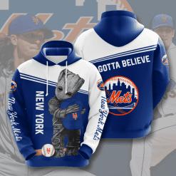 MLB New York Mets 3D Hoodie V5