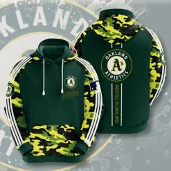 MLB Oakland Athletics 3D Hoodie V5
