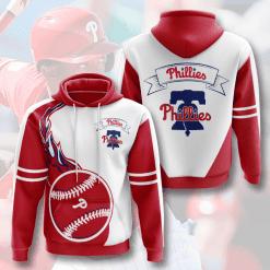 MLB Philadelphia Phillies 3D Hoodie V5