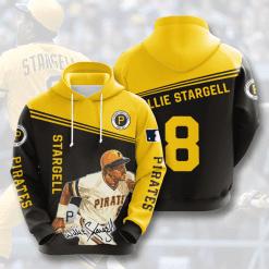 MLB Pittsburgh Pirates 3D Hoodie V5